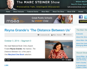 Reyna Grande's 'The Distance Between Us'    The Marc Steiner Show
